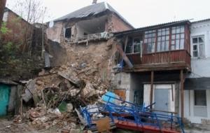 В Мелитополе обрушился жилой дом