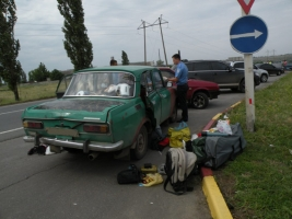 В Николаеве задержали автоугонщика, который решил просто покататься...