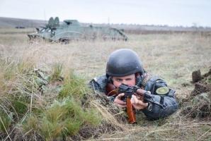 В Николаеве нацгвардейцы прошли ротные тактические учения