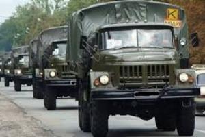 Боевики под Авдеевкой получили пять грузовиков боеприпасов