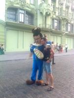 По Одессе прогулялся Янукович