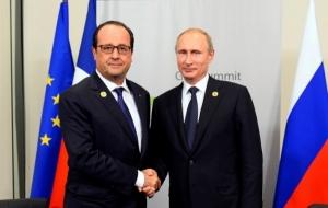 Олланд рассказал, о чем говорил с Путиным, закрывшись в гостинице в Брисбене