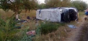 В Николаевской области пассажирский автобус столкнулся с зерновозом: 2 погибших, 10 травмированных