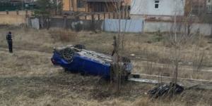 В Киеве Lexus врезался в остановку, есть жертвы