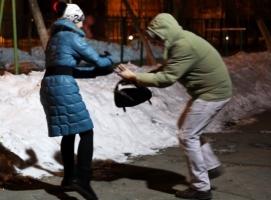 В Николаеве двое неизвестных вырвали у женщины из рук сумку и хотели скрыться