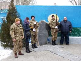 В Николаеве открыли Мемориал Славы в честь погибших героев-десантников николаевской 79-ки