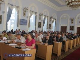 Депутаты традиционно не поддержали вопрос об общественных слушаниях в Николаеве