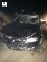 В Николаеве «Mitsubishi» сбил велосипедиста и скрылся с места ДТП