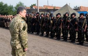 Порошенко упростил призыв на военную службу в случае возникновения ситуации, угрожающей национальной безопасности