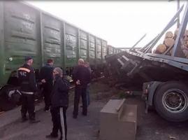 На Николаевщине произошло ДТП на железнодорожном переезде