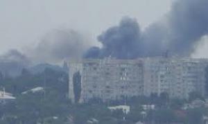В Донецке в результате массированных артобстрелов погибли 10 жителей и 8 получили ранения