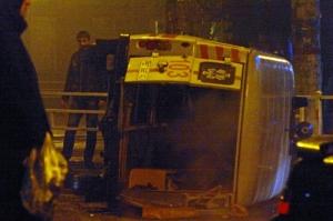 В центре Херсона произошло ДТП. Разбиты легковушка и «скорая». ФОТО