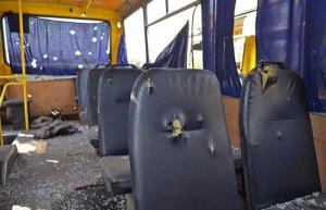 Во Львове обстреляли автобус, водитель скончался в больнице