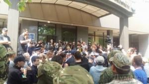 Одесские активисты пытались люстрировать прокурора