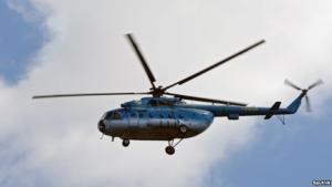 Российские вертолеты продолжают летать над админграницей с Крымом