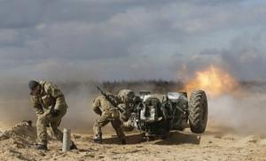 За минувшие сутки боевики 84 раза обстреляли позиции сил АТО - штаб