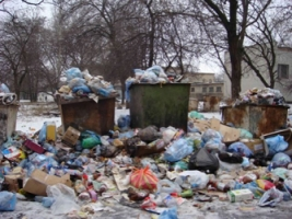 В Херсоне убирают мусор с помощью… Facebook