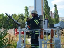 Николаевские пожарные испытали новую технику, изготовленную на НПК «Зоря-Машпроект» (ФОТО, ВИДЕО)