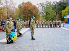 Херсонские военнослужащие почтили память погибших героев