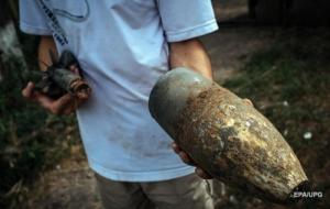 На Донбассе подорвался мужчина, распиливая боеприпас