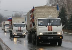 Очередной российский гумконвой въехал в Украину