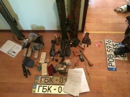 В Херсонской области задержаны «липовые» участники блокады Крыма, изъяты оружие и взрывчатка