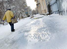 Сегодня в Николаеве ожидается гололед