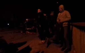 В Киевской области автобус с пассажирами слетел с моста