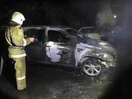 Скандальной одесской общественнице сожгли автомобиль