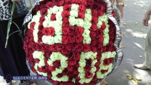 В Николаеве возложили цветы к памятнику Ольшанцам: не обошлось без перепалок (ФОТО, ВИДЕО)