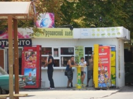 В Одессе вблизи детских площадок работают ларьки с алкоголем
