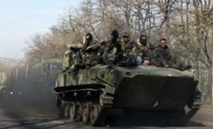 Боевики перебрасывают бронетехнику к линии фронта - ИС