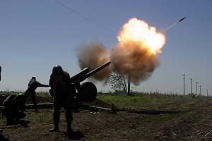 Пророссийские наемники 44 раза обстреляли позиции сил АТО