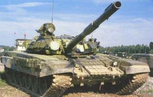 ДНРовцы разместили рекламу в центре Донецка, в которой предлагают получить танк Т-72 в хорошем состоянии